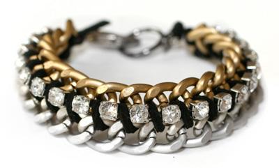 pulsera de cadenas