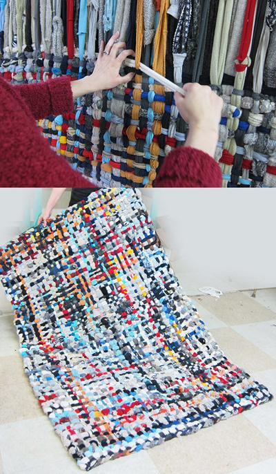 Alfombras de trapillo originales cool alfombras crochet - Alfombras de trapillo originales ...